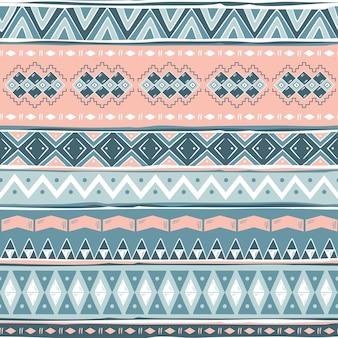 Tribal wzór navajo. geometryczny nadruk aztec. etniczny