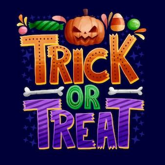 Trick or treat napis