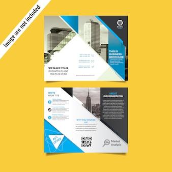 Trifold szablon broszury