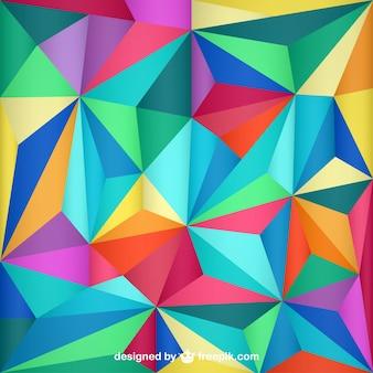 Trójkąt abstrakcyjne tło projekt