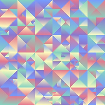 Trójkąt geometryczny tło - streszczenie wielokątne