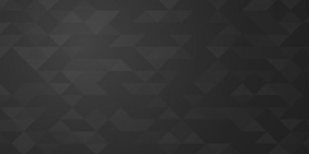 Trójkąt streszczenie wektor. zarys projektu. geometryczne nowoczesne i biznesowe styl tło