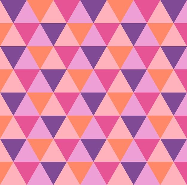 Trójkąt wzór. geometryczne proste tło. kreatywna i elegancka ilustracja stylu