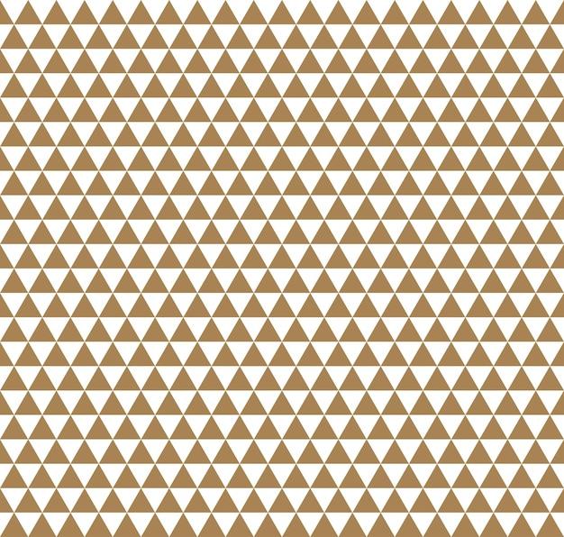 Trójkąt Wzór. Geometryczne Proste Tło. Kreatywna I Elegancka Ilustracja W Stylu Premium Wektorów