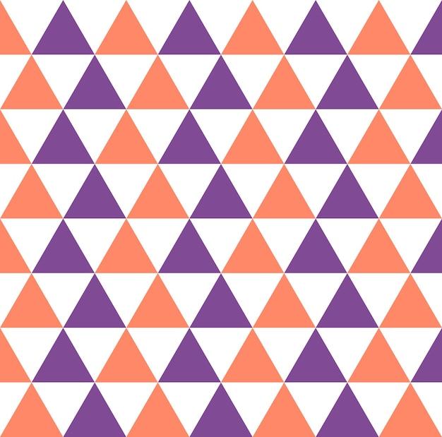 Trójkąt wzór. geometryczne proste tło. kreatywna i elegancka ilustracja w stylu