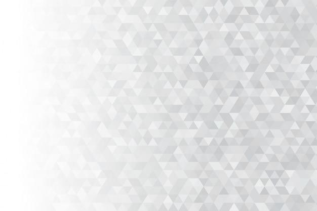 Trójkątne tło. wiele cyfrowych szarych trójkątów wygląda nowocześnie.