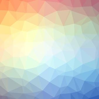 Trójkątne tło wzór gradientu