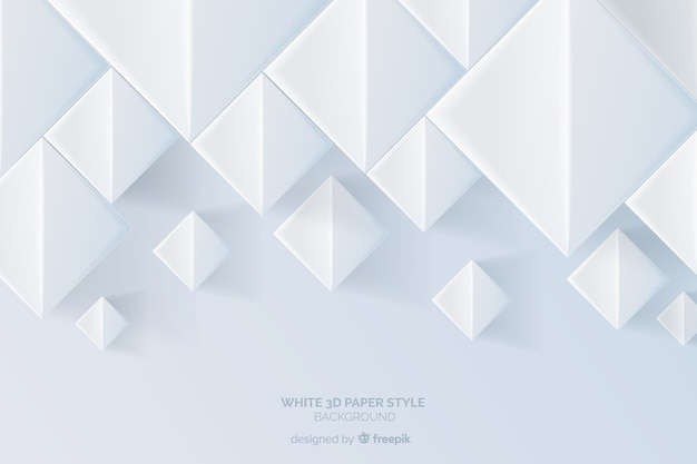 Trójwymiarowe tło stylu papieru