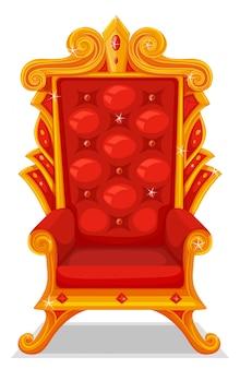 Tron wykonany ze złota