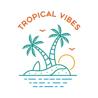 Tropical vibes