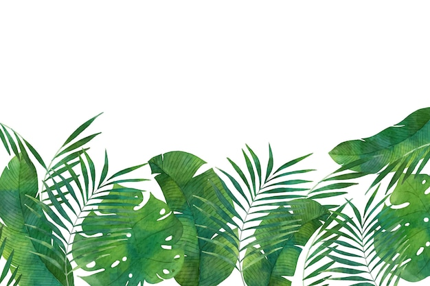 Tropikalna tapeta ścienna