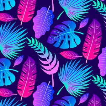 Tropikalne lato tło
