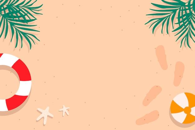 Tropikalny letni design