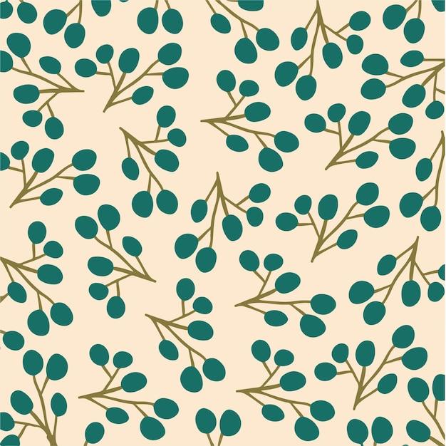 Tropikalny liść wzór tło social media post botaniczny kwiatowy ilustracja wektorowa