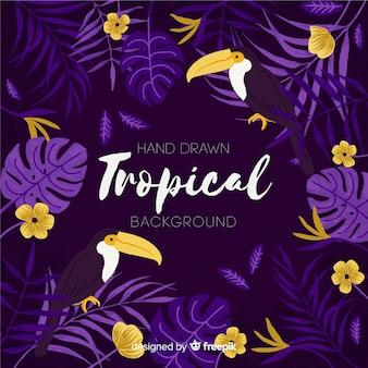 Tropikalny tło