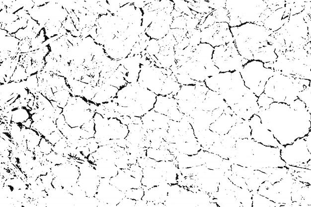 Trudna tekstura nakładki chropowatej powierzchni, suchej gleby, spękanej ziemi. tło grunge.