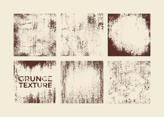 Trudnej sytuacji grunge tekstury wektor