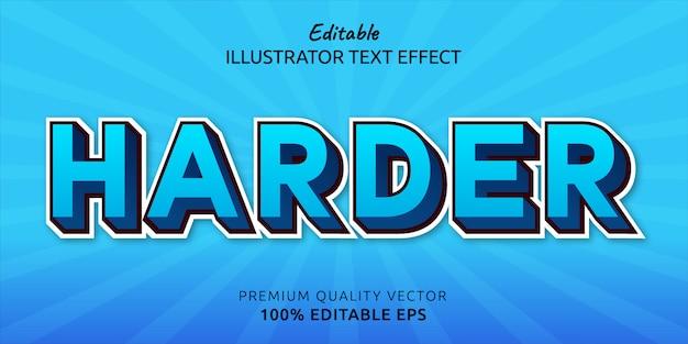 Trudniejszy efekt edytowalnego stylu tekstu