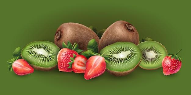 Truskawka i kiwi