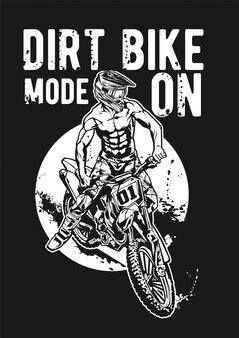 Tryb dirtbike włączony