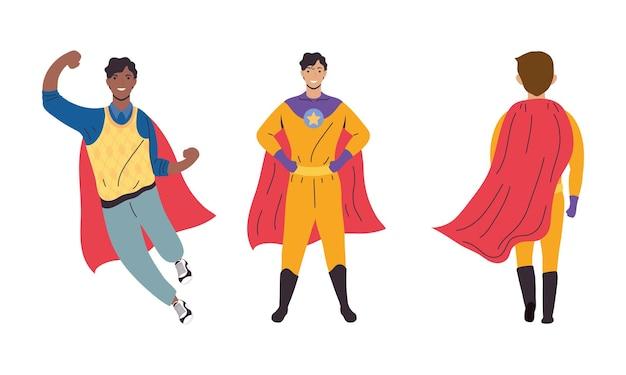 Trzech super ojców