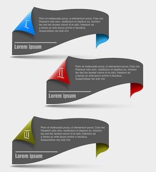 Trzy kroki postępu. ilustracja