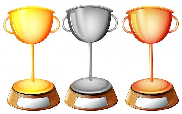 Trzy trofea