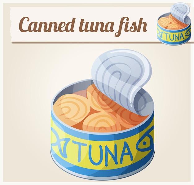 Tuńczyk w puszkach.
