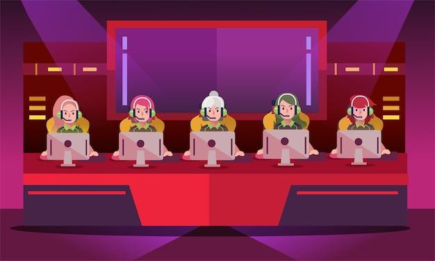 Turniej dla dziewcząt e-sportowych