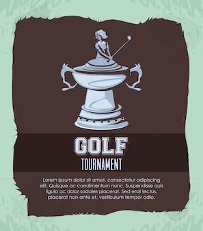 Turniej golfowy o srebrne trofeum