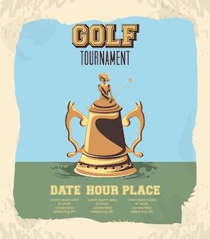 Turniej golfowy o złote trofeum