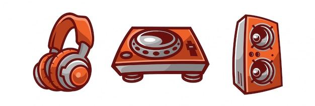 Turntable music dj