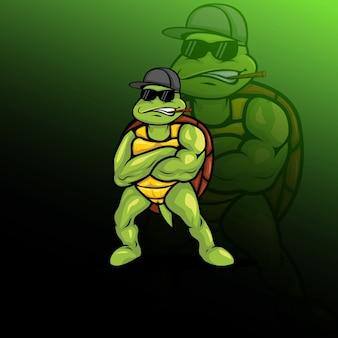 Turtle logo e sport