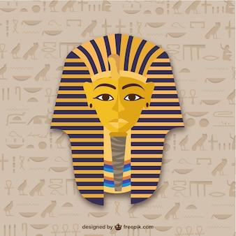 Tutanchamon maska