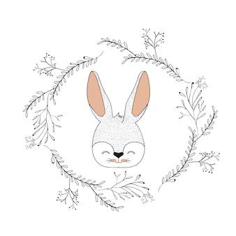 Twarz króliczka