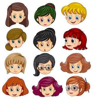 Twarze kobiety