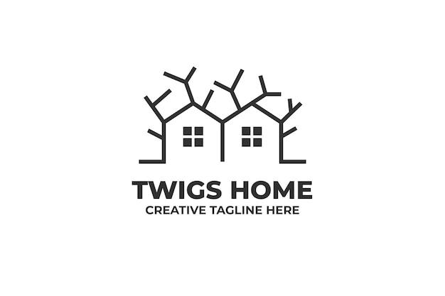 Twigs twin house residence logo