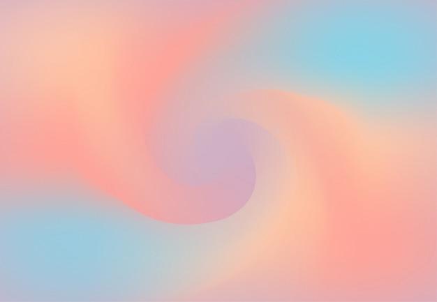 Twist tło w pastelowych kolorach. skręcone wzornictwo. ilustracja