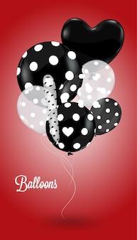 Twórczy balon czerwony