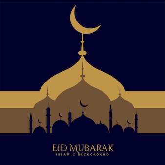 Twórczy projekt pozdrowienie festiwalu eid