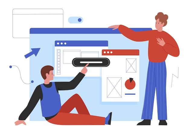 Tworzenie stron internetowych programiści procesu tworzenia stron internetowych współpracują ze sobą