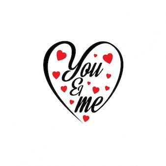 Ty i ja z sercami