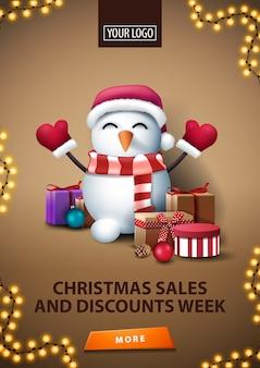 Tydzień świątecznych wyprzedaży i rabatów