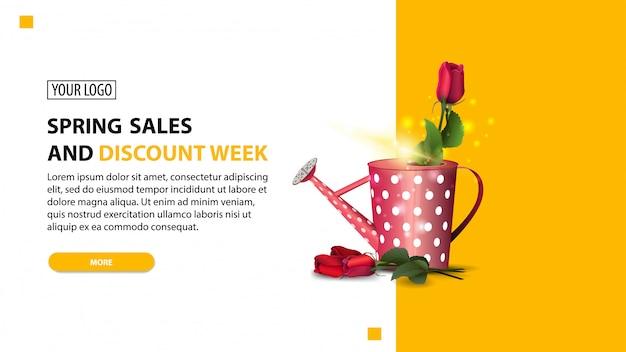 Tydzień wiosennej sprzedaży i rabatów