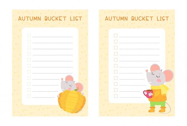 Tygodniowy i codzienny pakiet stron z planami dla dzieci