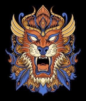 Tygrysia ilustracja