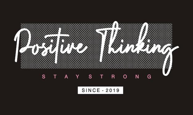 Typografia pozytywnego myślenia