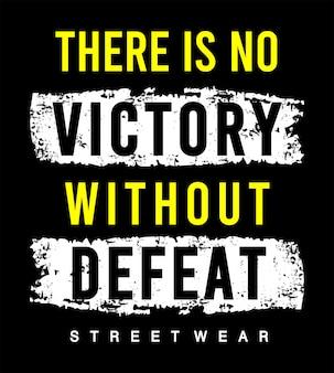 Typografia zwycięstwa i porażki