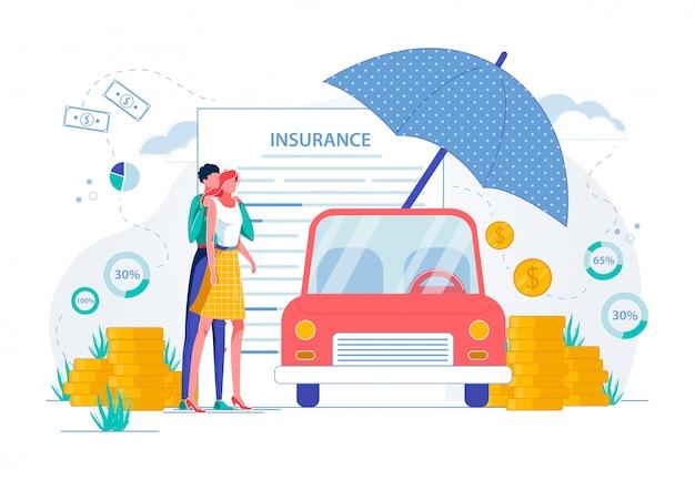 Ubezpieczenie samochodu i ochrona majątku ruchomego.