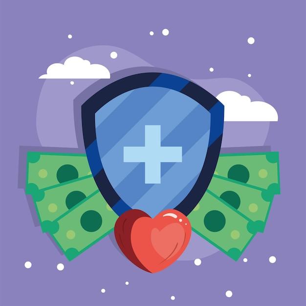 Ubezpieczenie zdrowotne z sercem i pieniędzmi